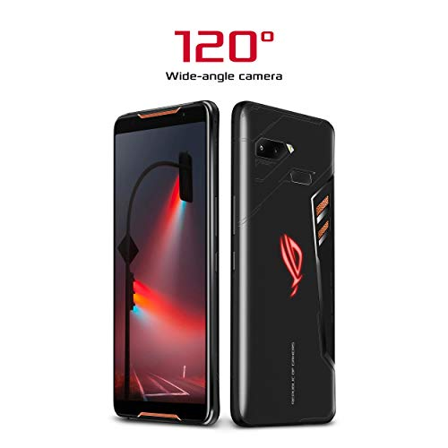 "ROG Phone Gaming Smartphone ZS600KL-S845-8G128G - 6"" FHD+ 2160x1080 90Hz Display - Qualcomm Snapdragon 845 - 8GB RAM - 128GB Storage - LTE Unlocked Dual SIM Gaming Phone - US Warranty"