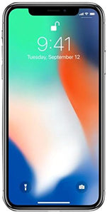 Apple iPhone X, GSM Unlocked, 64GB - Silver (Refurbished)