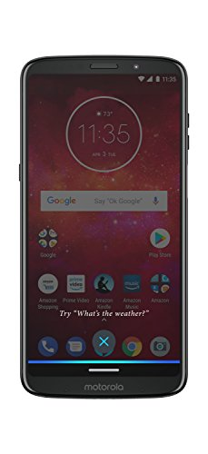 Moto Z3 Play – 64 GB – Unlocked (at&T/Sprint/T-Mobile/Verizon) – Deep Indigo – Prime Exclusive Phone