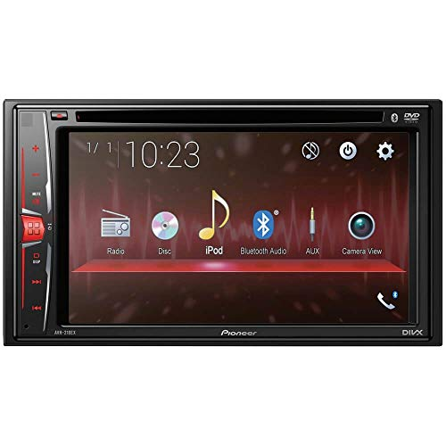 "Pioneer, AVH-210EX in-Dash 2-DIN 6.2"" Touchscreen DVD Receiver with Bluetooth"