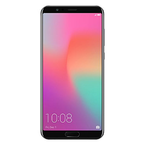 "Honor View10 GSM Unlocked Smartphone, AI Processor, 5.99"" FullView Display, 20MP + 16MP Dual-Lens AI Camera, Dual SIM 4G, Fast Charging, 6/128 GB, Black (US Warranty)"