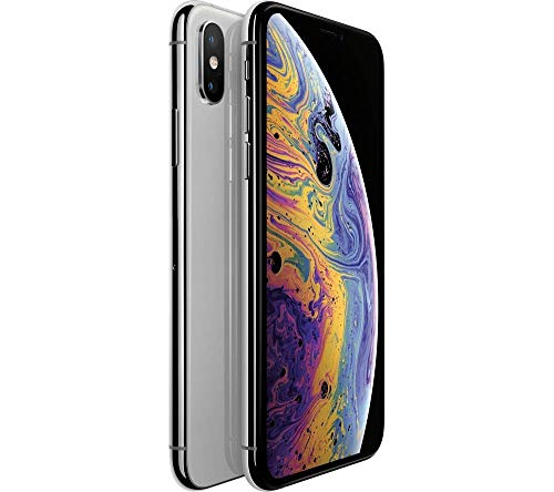 "Apple iPhone XS Max, Fully Unlocked 6.5"", 64 GB - Silver (Refurbished)"