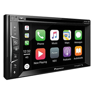 "Pioneer, AVH-1300NEX Multimedia, DVD Receiver, with 6.2"" WVGA Display/Apple CarPlay, Built-in Bluetooth/SiriusXM-Ready/AppRadio Mode +"