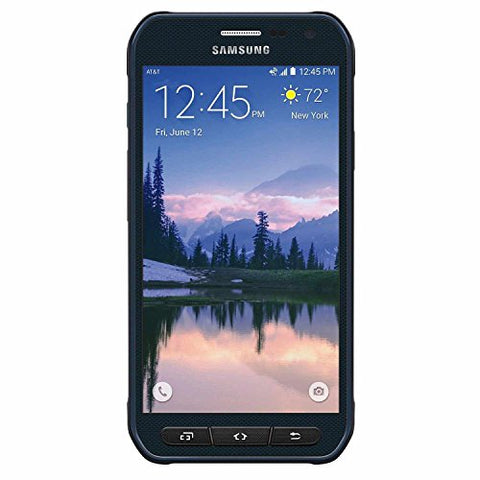 "Samsung Galaxy S6 Active G890A (64GB) Phone,  5.1"" Rugged Waterproof IP68 GSM Unlocked Smartphone (Camo Blue)"