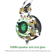 Load image into Gallery viewer, Cool LED USB Noise Reduction LED Light Changing Headset Over-Ear