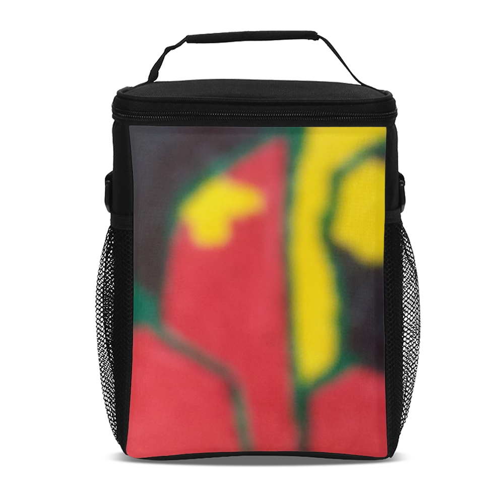 We are the world Tall Insulated Lunch Bag