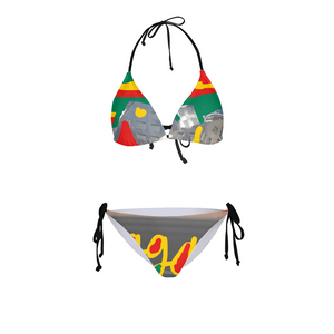 Women's Triangle String Bikini