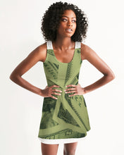 Load image into Gallery viewer, its all about the money Women's Racerback Dress