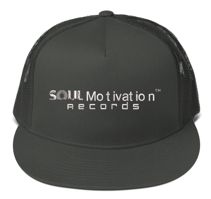 Soul Motivation Records Mesh Back Snapback Hat