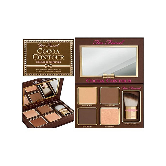 Too Faced Contour de cacao ciselé à la perfection