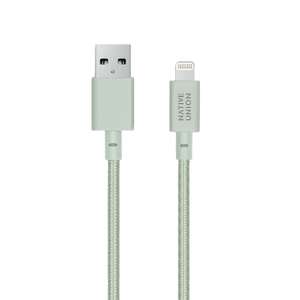 Native Union 1,2m Sage Belt Cable USB til Lightning