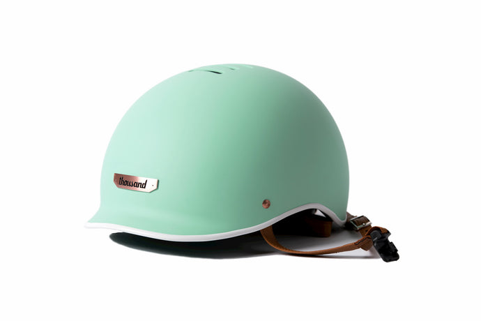 Thousand helmet mint girl bike helmet