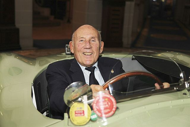 Chequered Flag Lowered One Last Time For British Motor Racing Legend Sir Stirling Moss