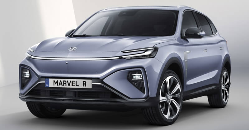 MG to launch Marvel R electric SUV