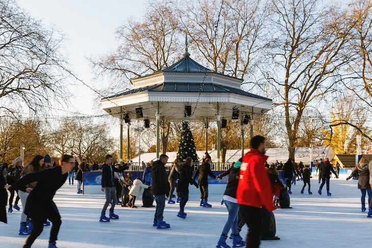 Best Christmas ice skating places in London