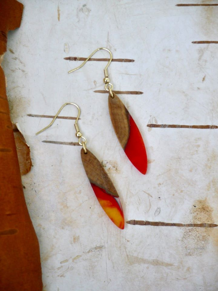Fire Collection - Surf Earrings (SOLD)