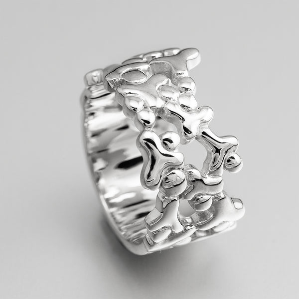 Sterling Silver Y Ring OWR17784