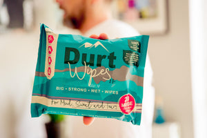 3 PACKS DurtWipes - 20 Huge Premium Wipes per pack (€6 per pack)- FREE SHIPPING