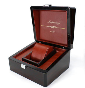 Free Wooden Luxury Royal Watch Box - Indipendenza 1946