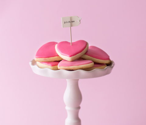 Heart Shaped Cookies Valentine's Day