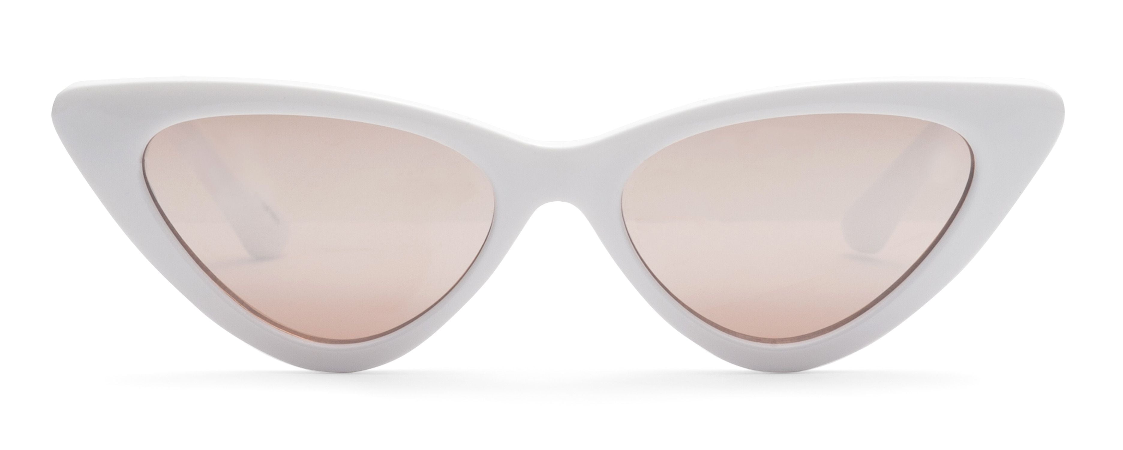 POP White JUNiA Kids Sunglasses