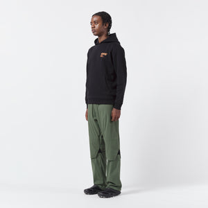 AFFIX WORKS AFFX WRKS STANDARDISED LOGO HOODIE BLACK/ORANGE