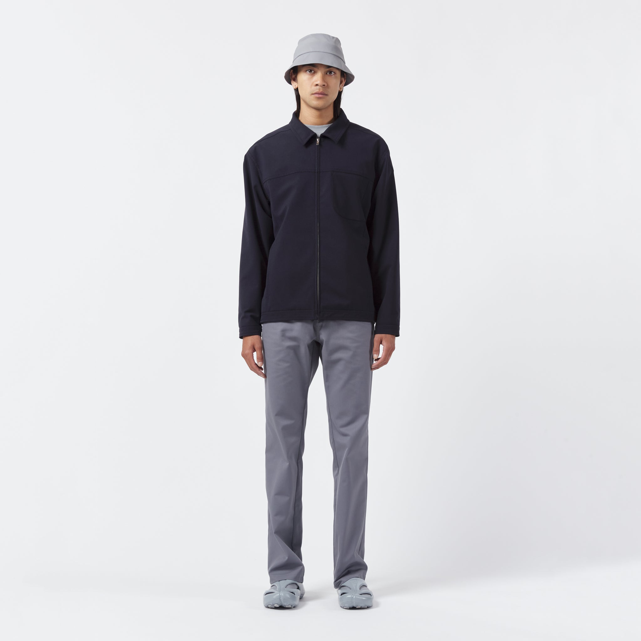AFFIX WORKS AFFX WRKS BOXED BLOUSON DARK NAVY