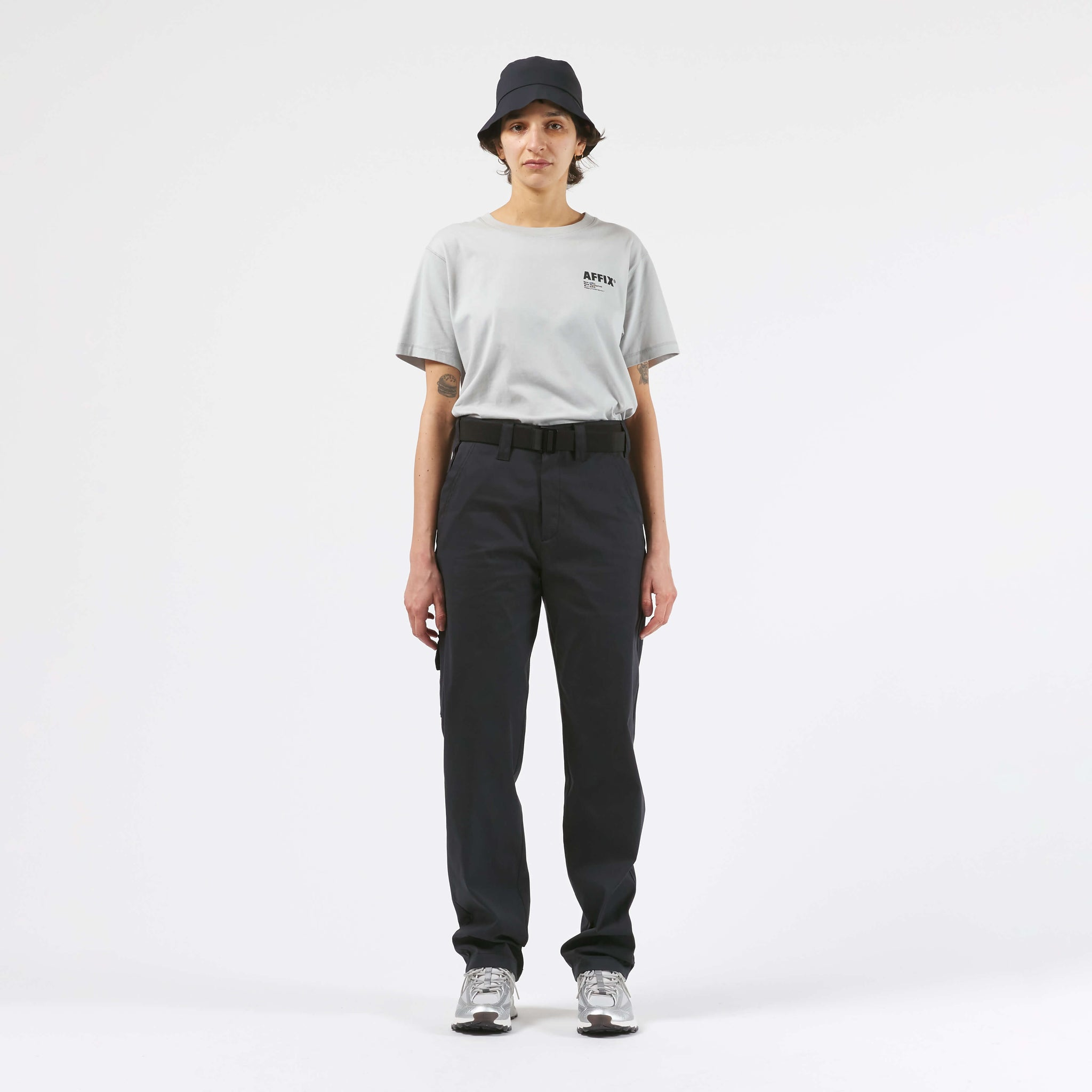AFFX WRKS AFFIX WORKS UTILITY PANT BLACK EXCLUSIVE