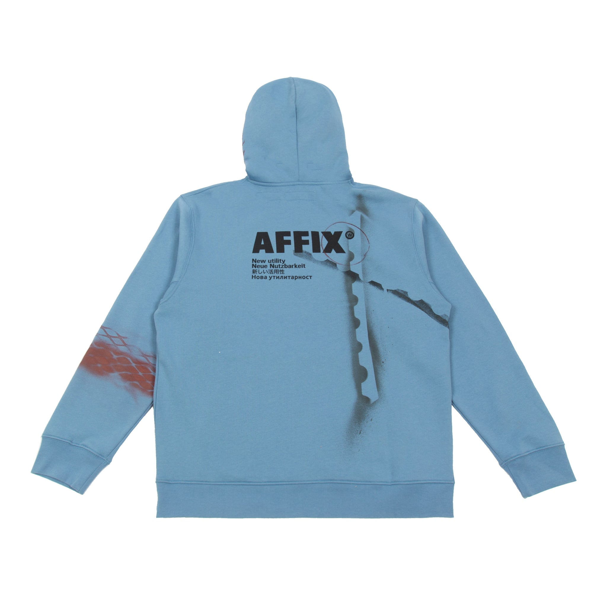 AFFIX re WORKS HOODIE 06 XL