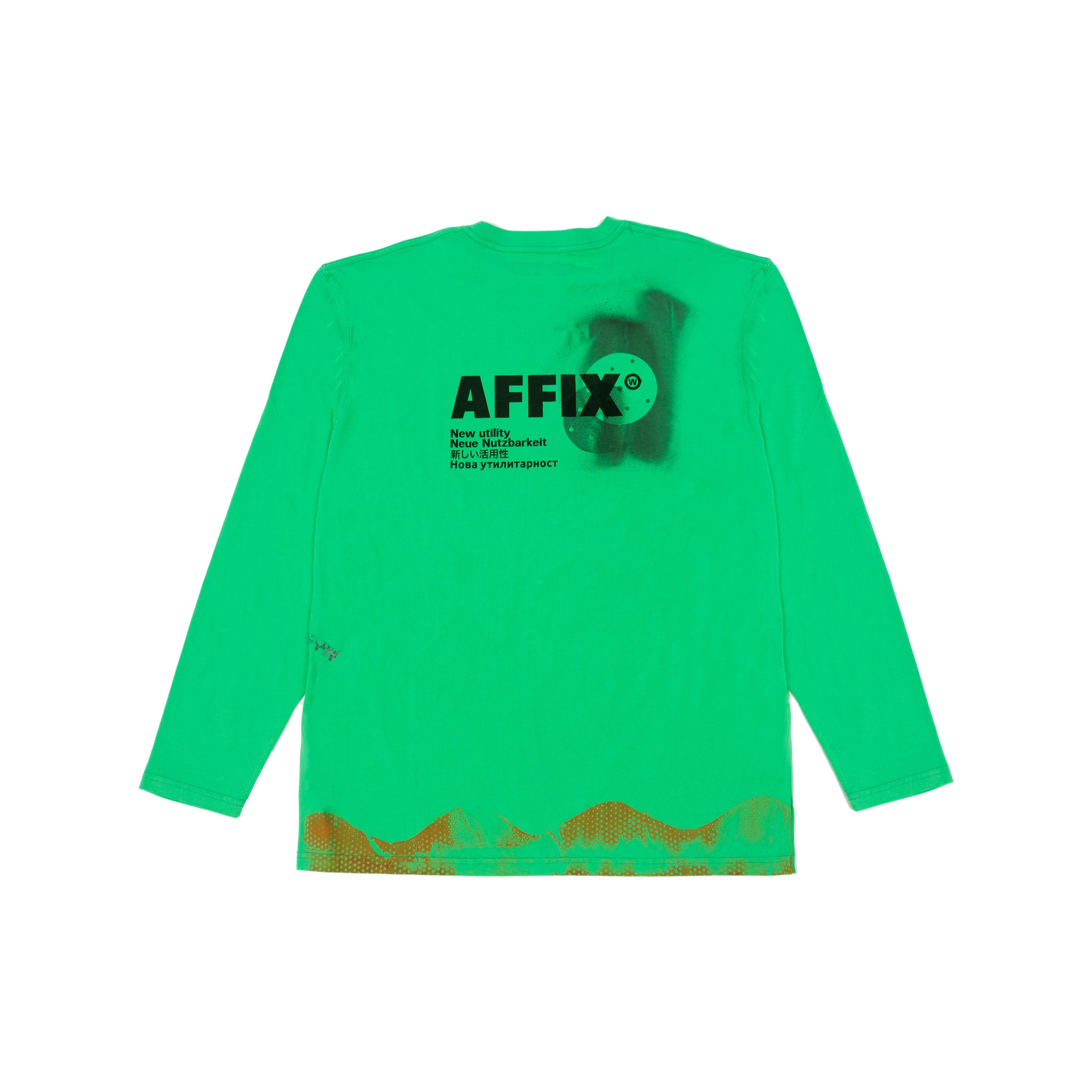 AFFIX re WORKS T-SHIRT LS 03 L