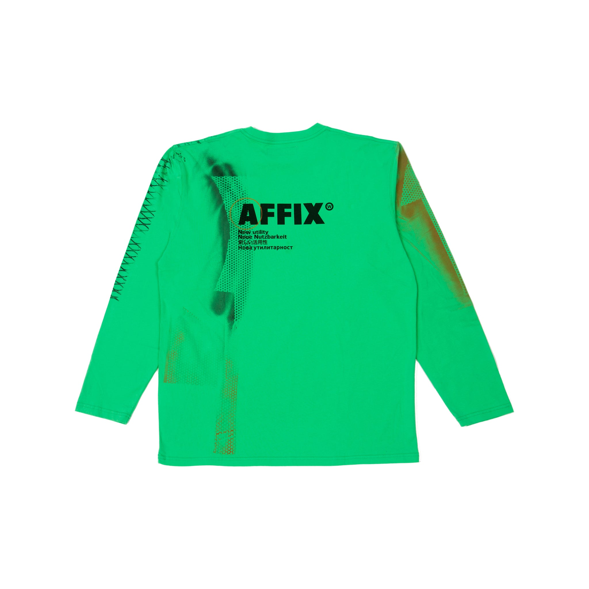 AFFIX re WORKS T-SHIRT LS 06 XL