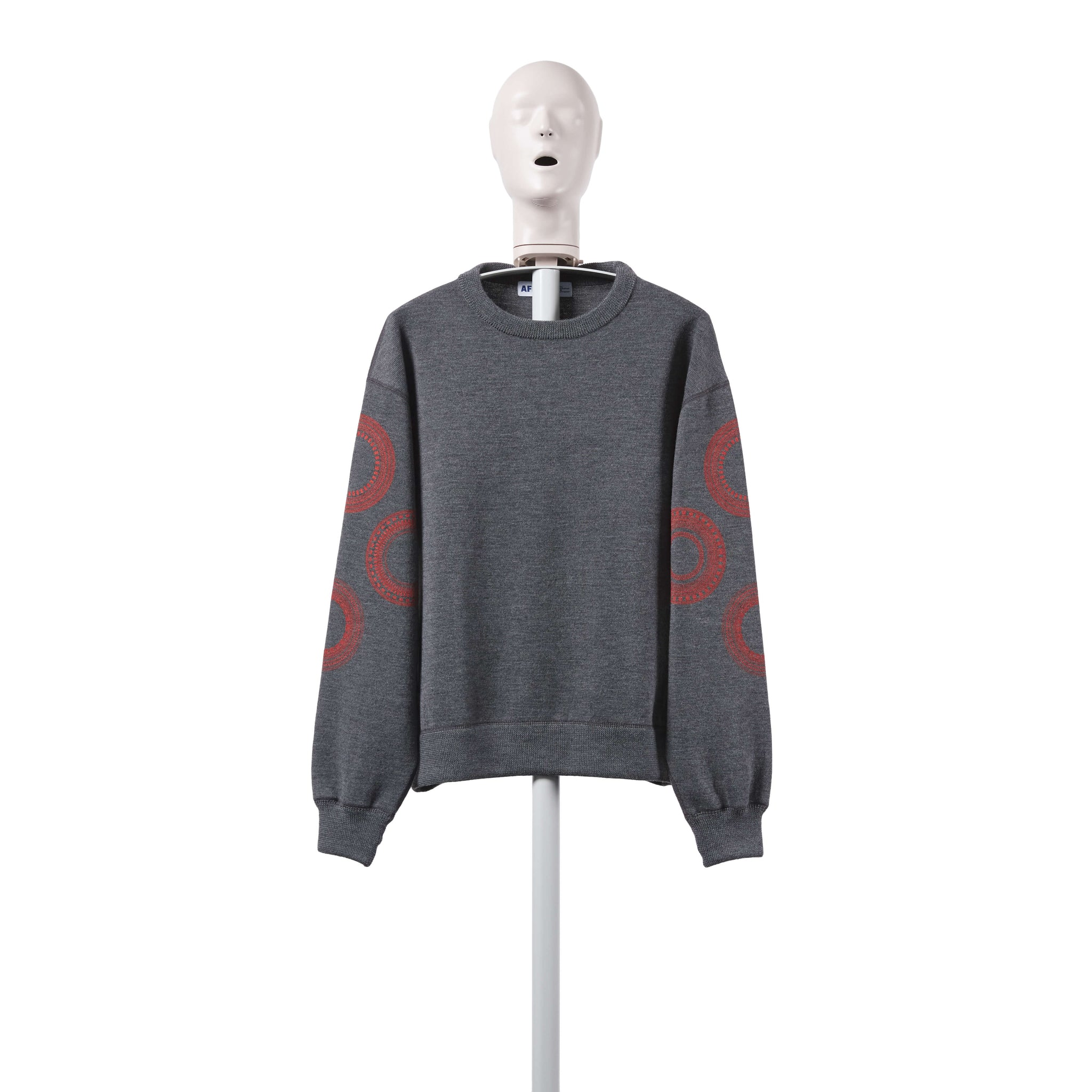 AFFIX WORKS AFFXWRKS TACH TUNING KNIT GREY/RED EXCLUSIVE