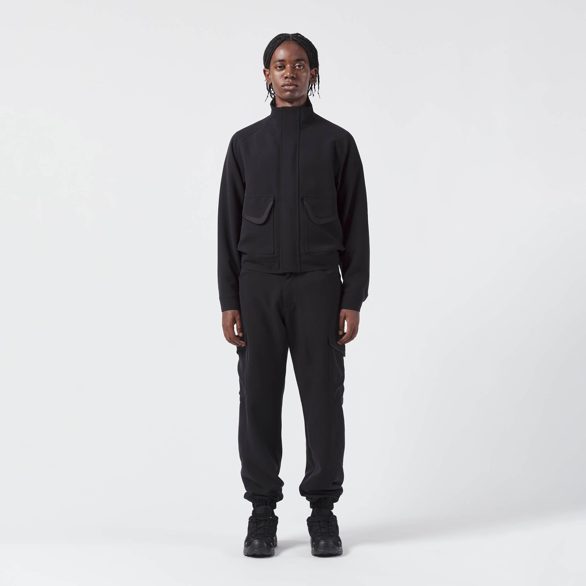 AFFIX WORKS AFFXWRKS MOBILISATION JACKET BLACK WEB EXCLUSIVE
