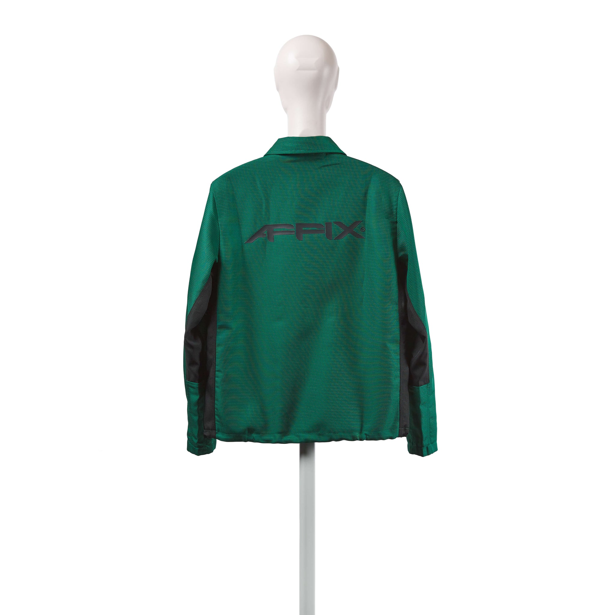 AFFIX WORKS AFFXWRKS VISIBILITY COACH JACKET GREEN
