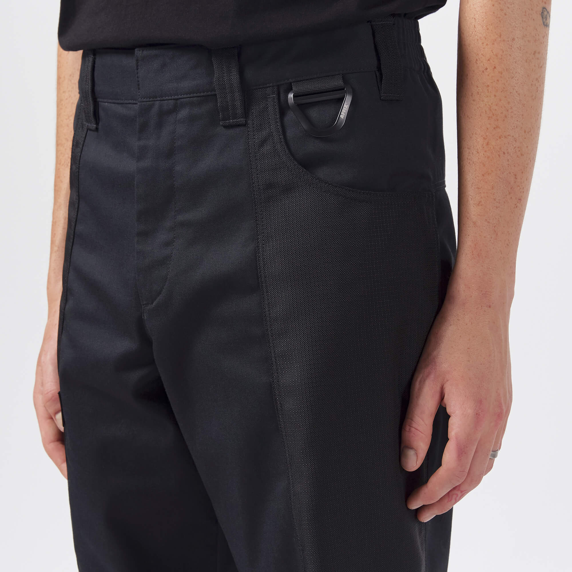 AFFIX WORKS AFFXWRKS DUO-TONE WORK PANT BLACK