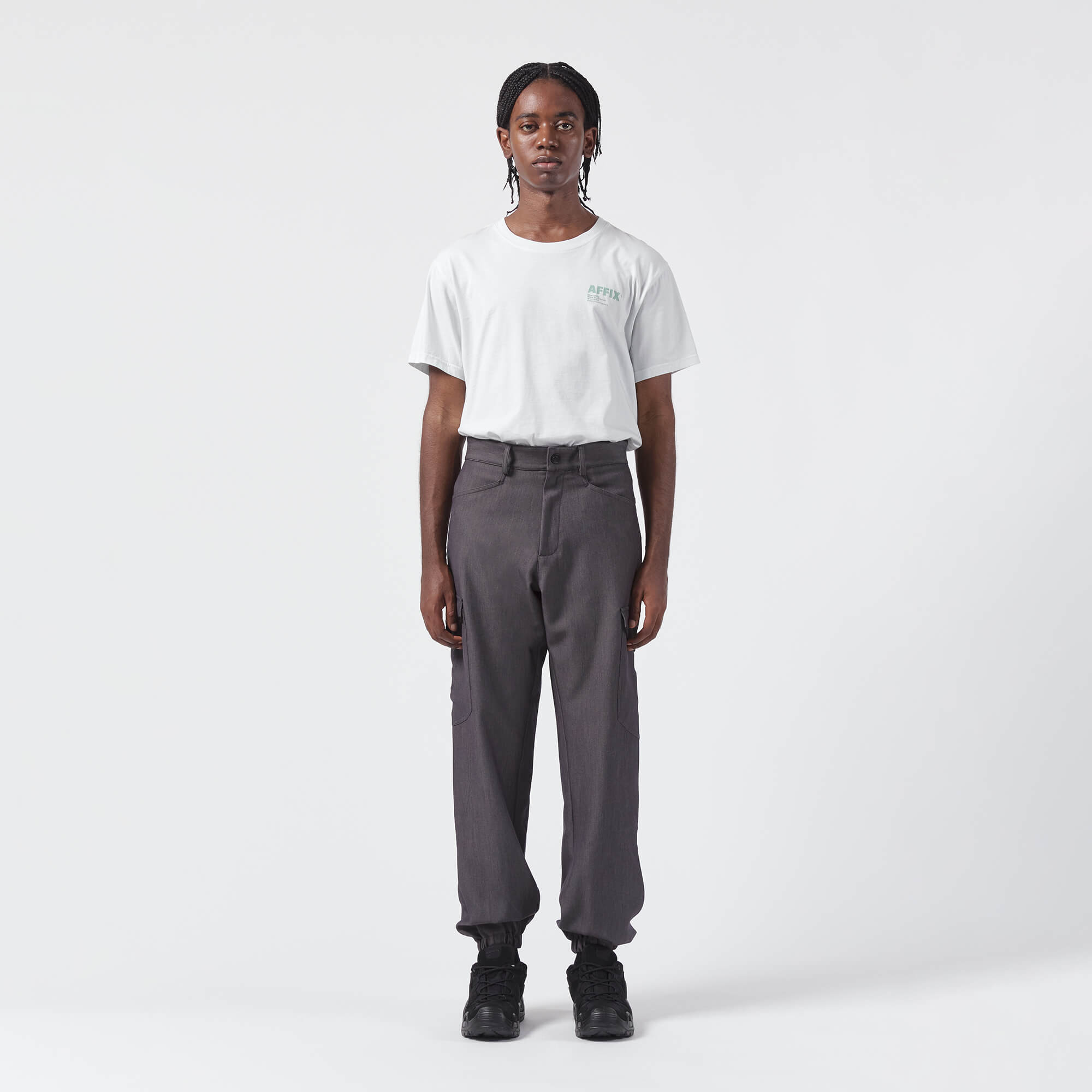AFFIX WORKS AFFXWRKS MOBILISATION PANT DARK GREY