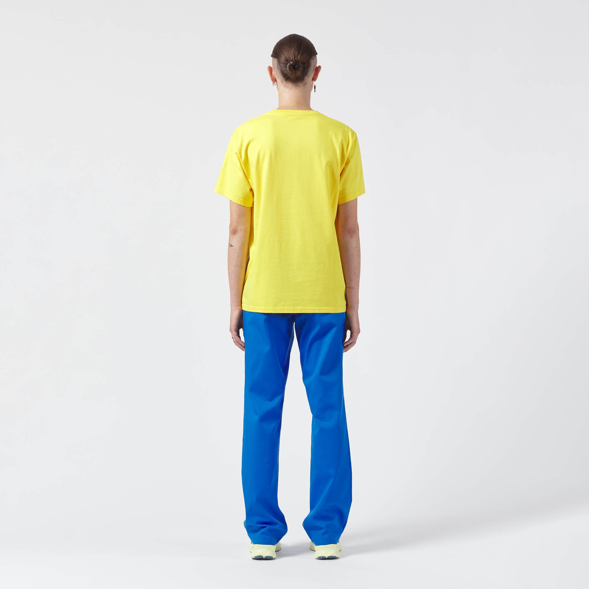 AFFIX WORKS AFFXWRKS S.E.S. INC T-SHIRT YELLOW