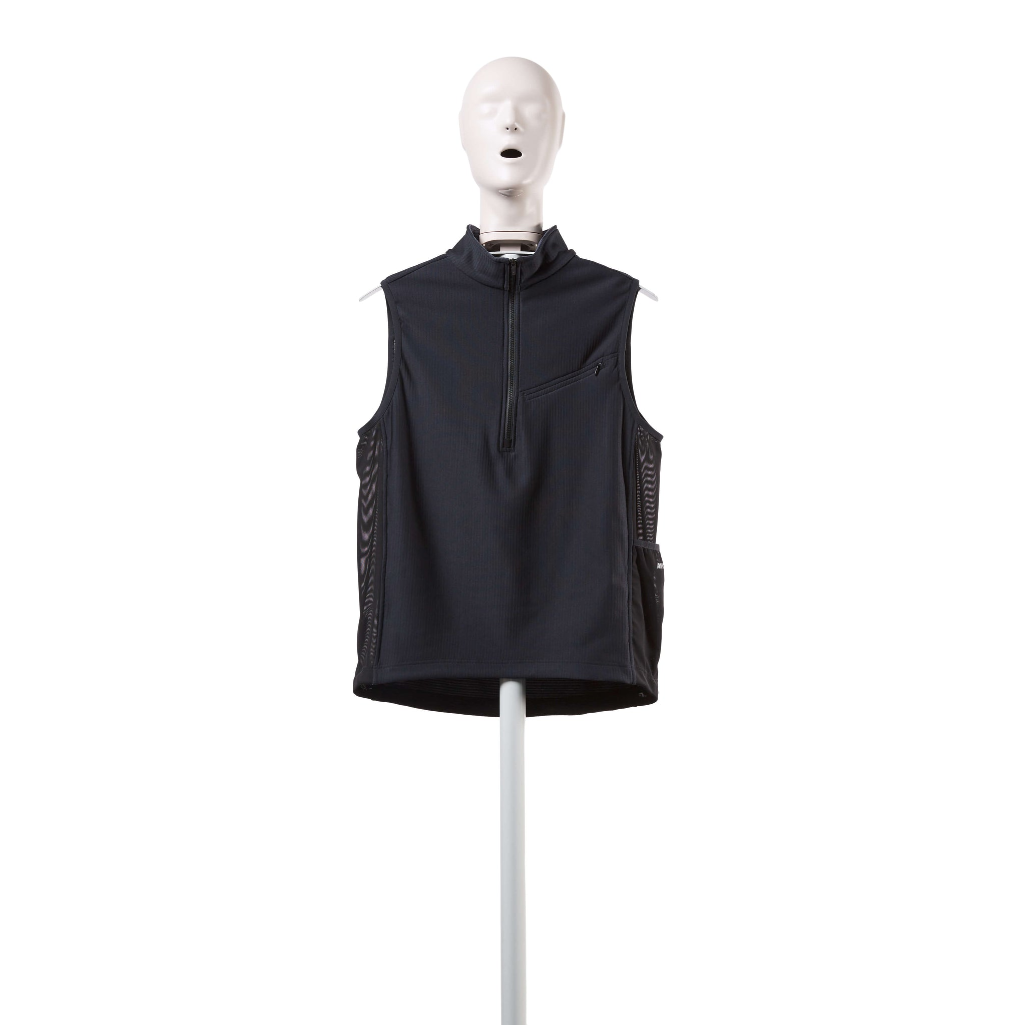 AFFIX WORKS AFFX WRKS PANEL VEST BLACK