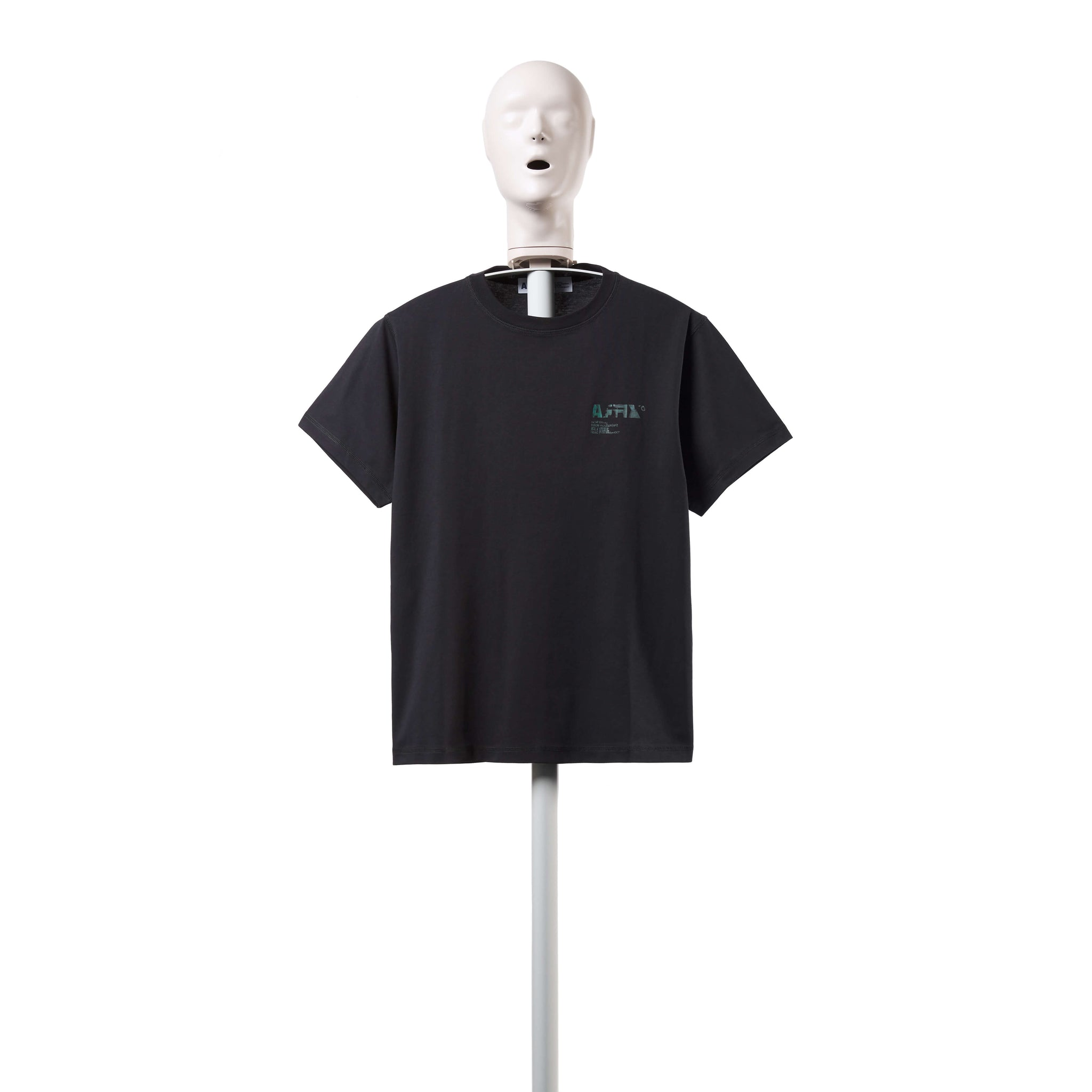 AFFIX WORKS AFFX WRKS A.I. STANDARDISED LOGO T-SHIRT BLACK