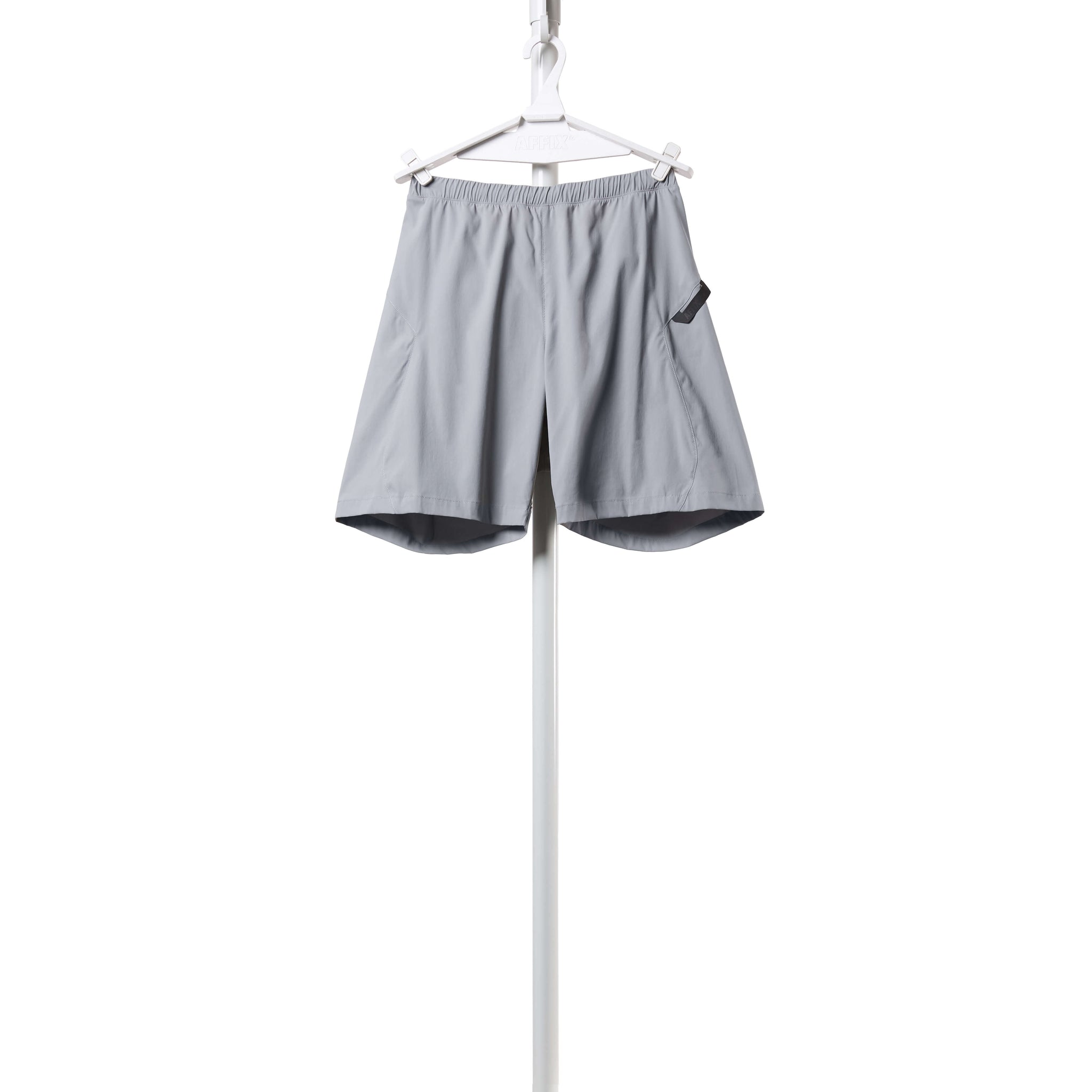 AFFIX WORKS AFFX WRKS FLEX SHORT SILVER GREY