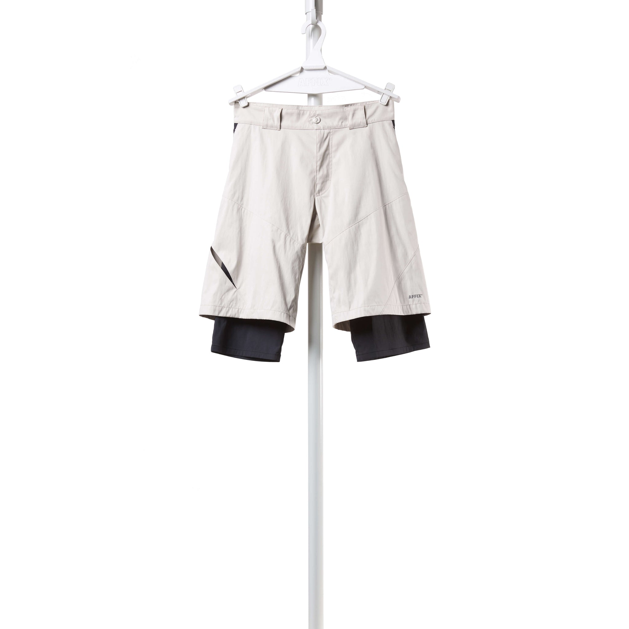 AFFIX WORKS AFFX WRKS DUAL LAYER SHORT CHALK