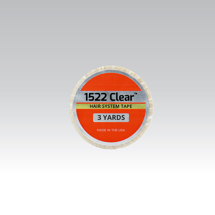 1522 Clear Hairsystem Tape  3-Yards