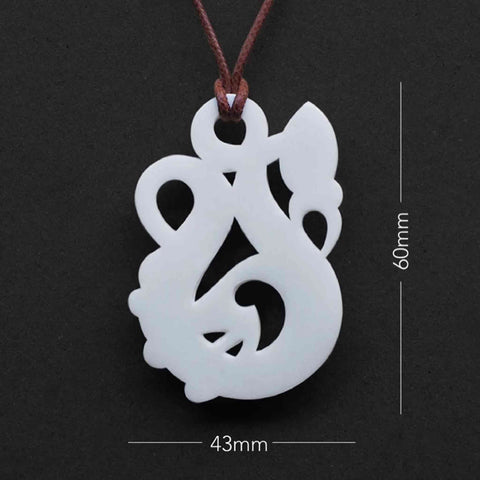 Manaia Bone Carving Necklace
