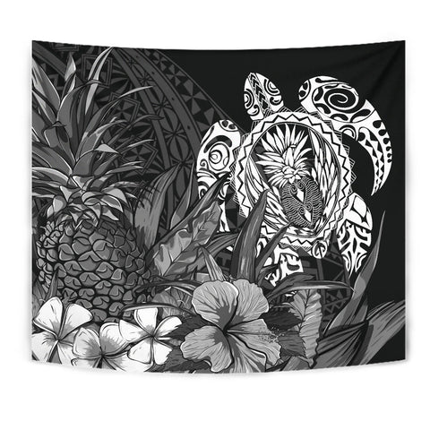 Polynesian Turtle Pineapple Tapestry K5 - 1st New Zealand