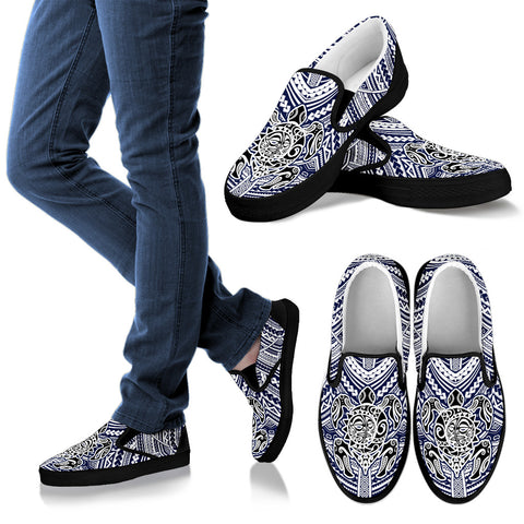 Maori Turtle Slip Ons K7 - 1st New Zealand
