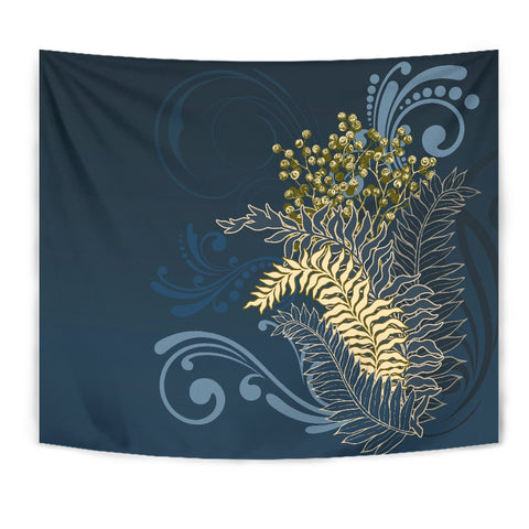 Image of Silver Fern New Zealand Tapestry K5 - 1st New Zealand