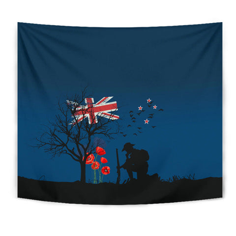 Remembering The Anzacs New Zealand Tapestry K5 - 1st New Zealand