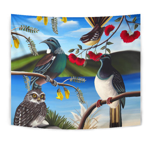 Image of New Zealand Native Birds Tapestry K5 - 1st New Zealand