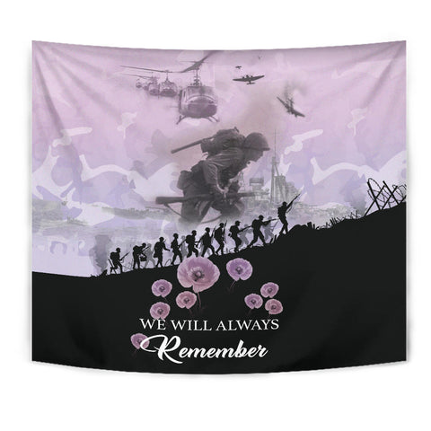 Remember Anzac New Zealand Tapestry Angel Pink K5 - 1st New Zealand