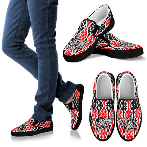 Maori Ray Slip Ons K7 - 1st New Zealand